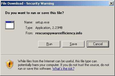 Beware of MenaceRescue - It is a Fake Anti-virus and Anti-spyware