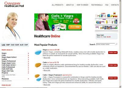 Fake Canadian Online Pharmacy Website www.lifetimehealthsource .mobi