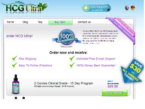 HCG Ultra Drops to Help Your Weight