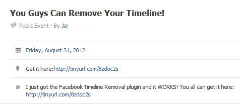 Facebook Post You Guys Can Remove Your Timeline