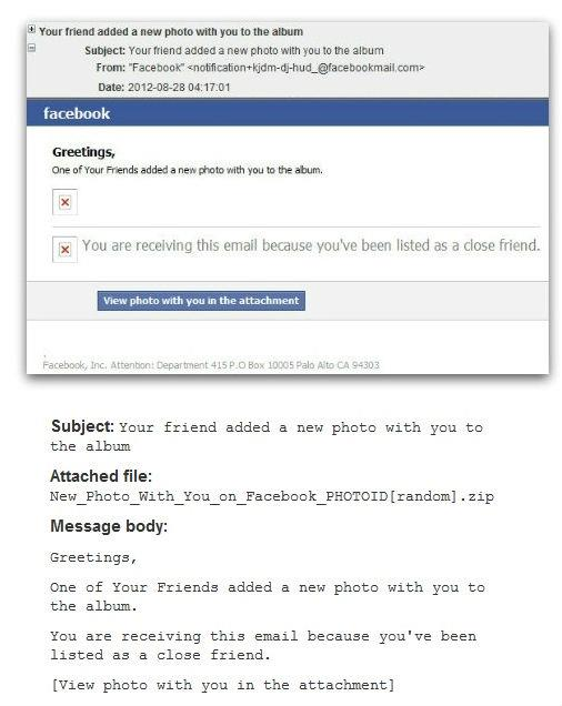 Facebook Scam: Your Friend Added A New Photo With You To The Album
