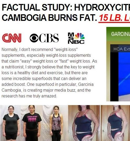 Fraudulent Websites Claiming To Sell Garcinia Cambogia