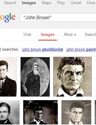 Google image search results for John Brown