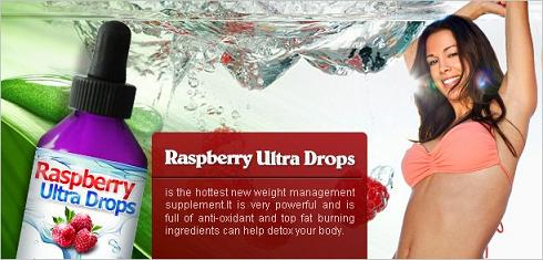 Raspberry Ultra Drops to Help Your Weight Drop