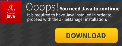"The ""Ooops You Need Java to continue"" Malicious Advertisement"