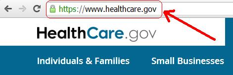 HealhCare.gov Website