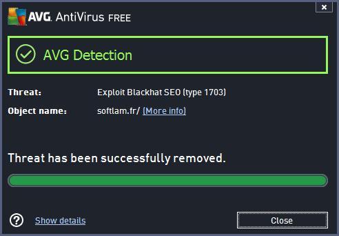 how to stop avg blocking website