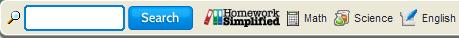 HomeworkSimplified toolbar