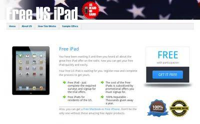 Malicious website IPAD97.com