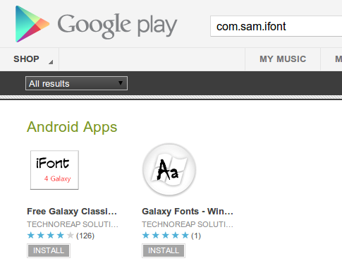 Android Malware Font Installing Applications on Google Play