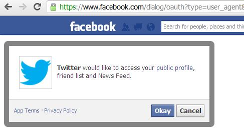 Image result for facebook account access prompt