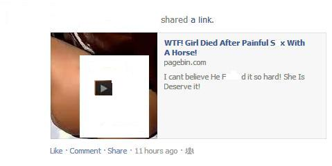 OMG, Girl Dies After having Painful S*x With a Horse!