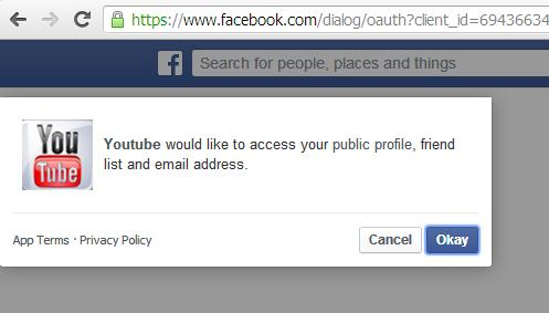 ww.videosplash.net requesting access to your Facebook profile