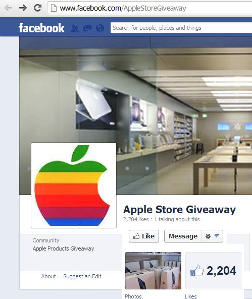 apple products giveaway apple imac store products giveaway scam july 2013 2447