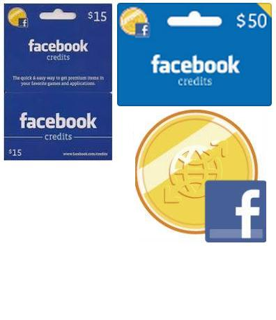 Facebook 50$ and 15$ Credits Giveaways
