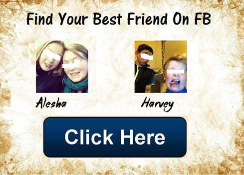 The 'Find Your Best Friend On FB' Facebook Application