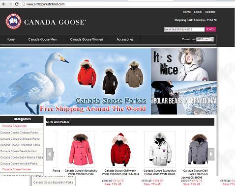 canada goose online shop fake