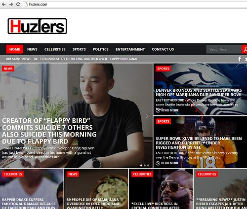 The website www.Huzlers.com