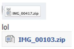 The Malicious Facebook Chat Message - lol IMG_00417.zip - IMG_00103.zip