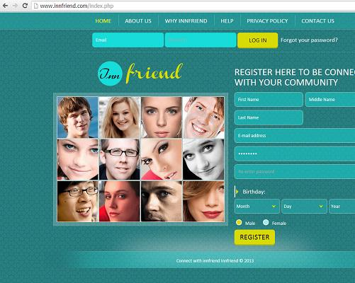 The Website www.innfriend.com