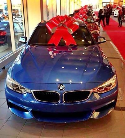 BMW 435i with Ribbon