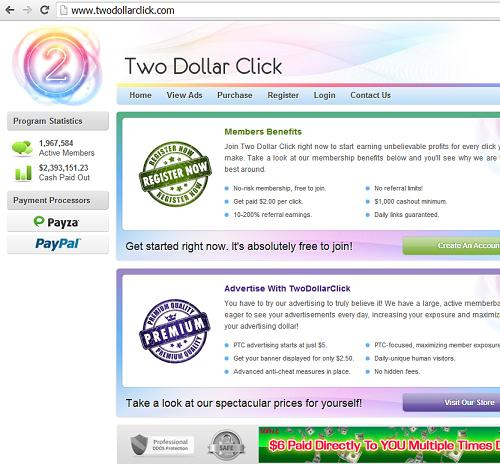 The Website www.twodollarclick.com