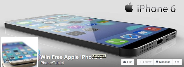 The Fake IPhone 6 Facebook Page