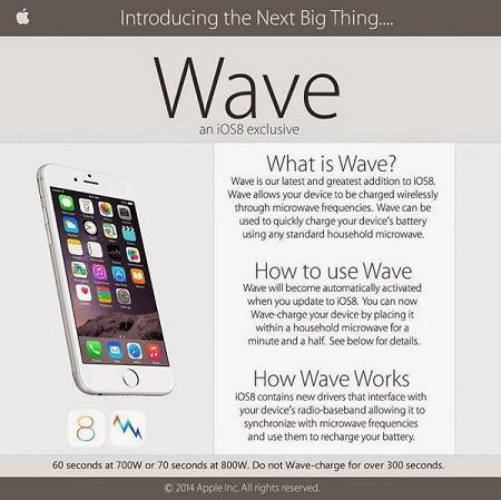 iOS8 Wave-Charge