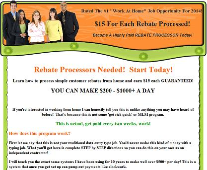 Is the Website www.rebate-processors.info Fraudulent or Legitimate?