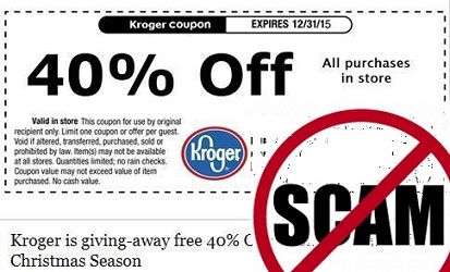 Kroger is giving-away free 40% Off voucher to start off Christmas Season