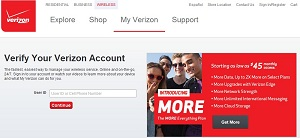 The Fake Verizon Website - www.myverizon.mobile-node.net