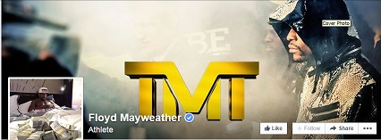Floyd Mayweather Facebook page