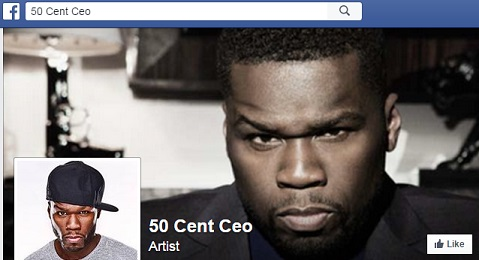 Fake 50 Cent Website: 50 Cent Ceo