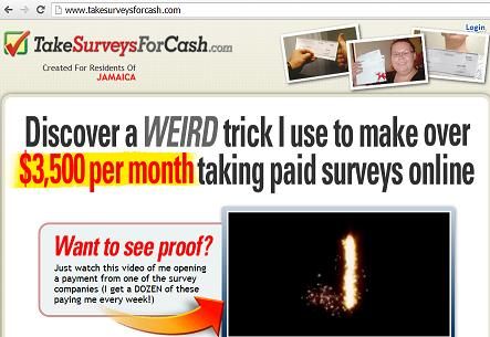 www.takesurveysforcash.com