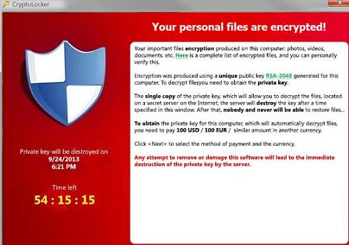Locky virus or malware