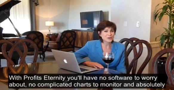 Profits Eternity System by Jane Creswell Binary Options Trading Scam