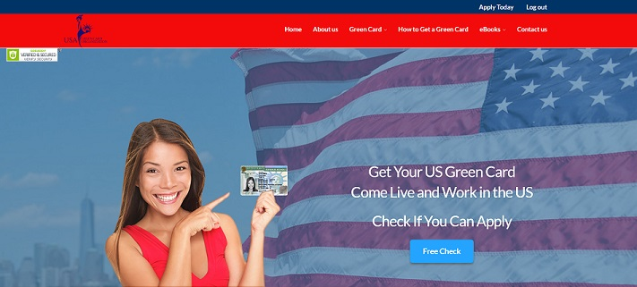 """The United States Green Card Organization"" Lottery Website at greencardorganization.com"