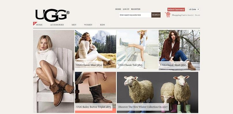 ugg store website