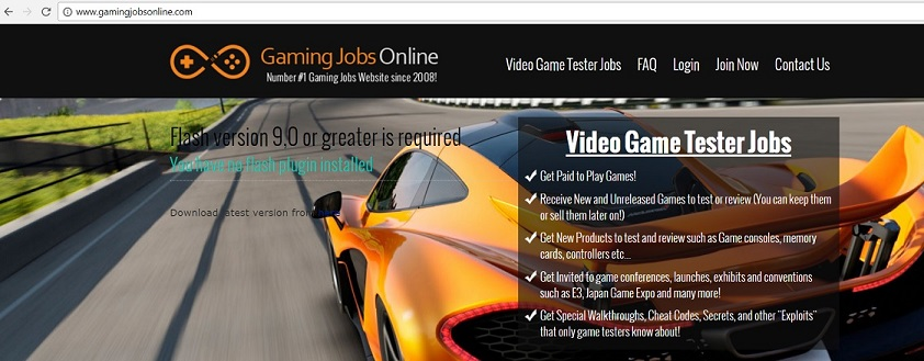 """Video Game Tester Jobs"" or ""Gaming Jobs Online"" - gamingjobsonline.com"