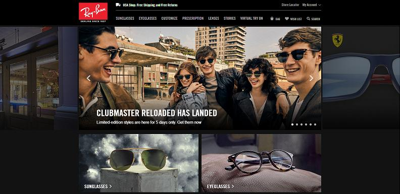 RayBan Sunglasse at www.causewaylettings.org.uk