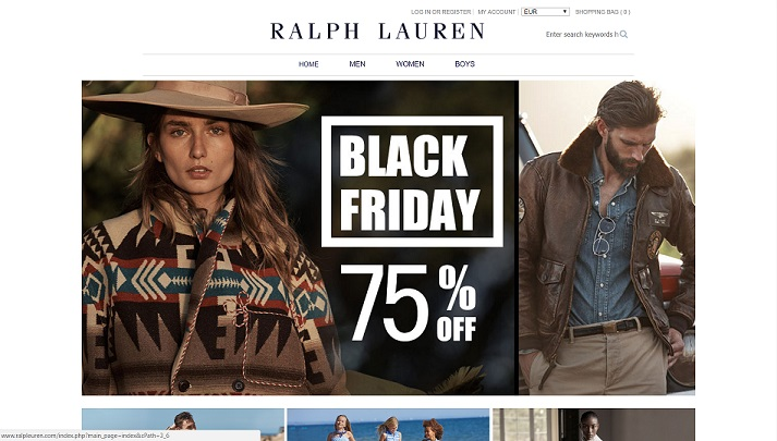 ralpleuren.com - A Fake Polo Ralph Lauren Clothing Website