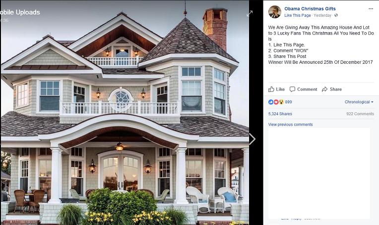 Obama Christmas Gifts Amazing House Facebook Giveaway