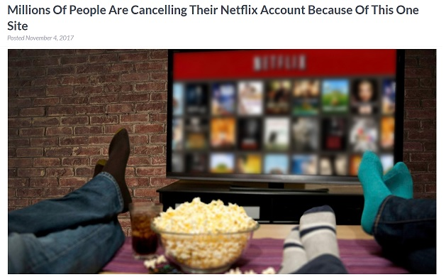 Millions Of People Are Cancelling Their Netflix Account Because Of This One Site