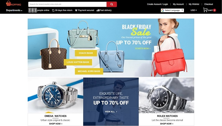 www.netsshows.com - Fashion Online Shopping Mall