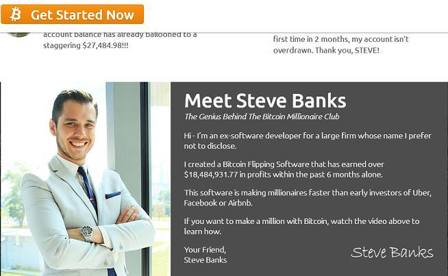 The Steve Banks Bitcoin Millionaire Club at www.bitcoinadvertising.co