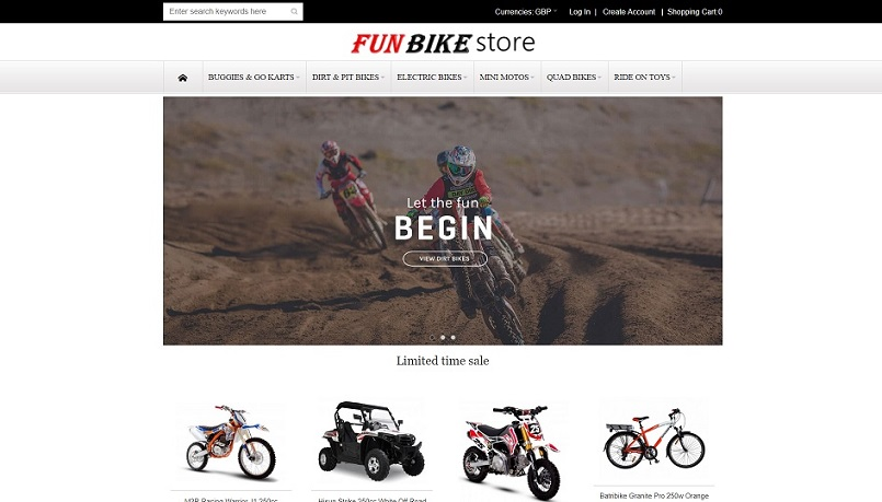 vipfunbike.com (Fun Bike Store)