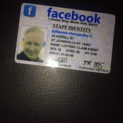 Facebook Lottery Scammers Using Fake Identifications (IDs)