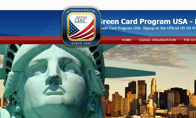 www.usagc.org - Greed Card lottery scamming website