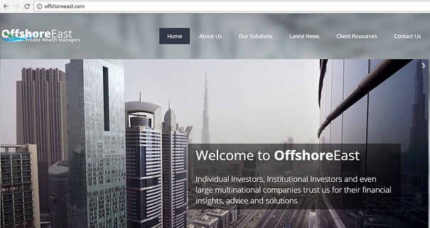 Offshore East Private Wealth Managers Website www.offshoreeast.com
