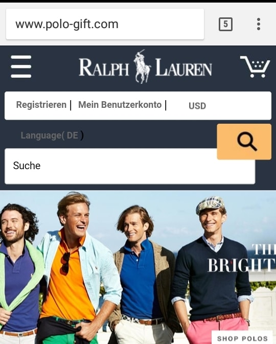 polo-gift.com - A Fake Ralph Lauren  Clothing Website